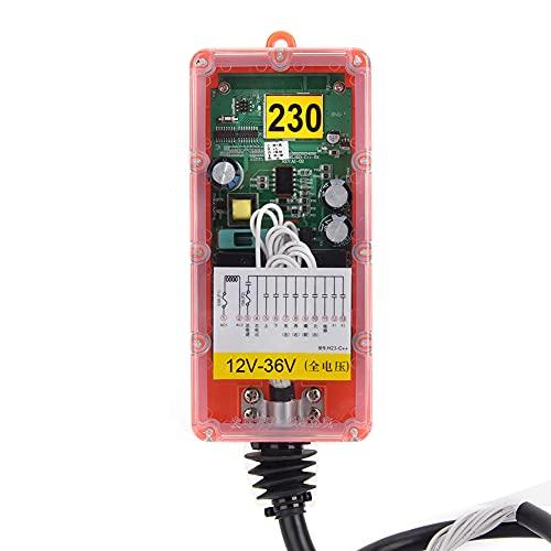 Receptor de tres pruebas de control remoto industrial inalámbrico interruptor de control remoto industrial para maquinaria minera para maquinaria industrial (12V-36V)
