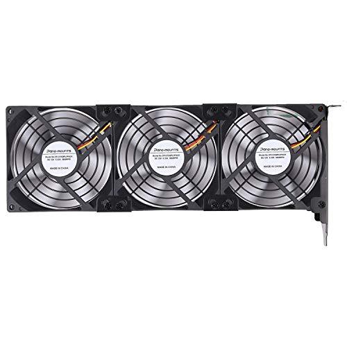 Graphic Card Fans GPU Cooler PCI Slot Fan Triple 92mm 90mm 9025 Fans for...