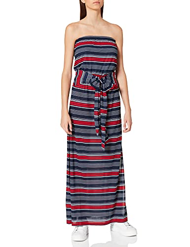 Tommy Hilfiger Bandeau Dress Vestido, Blazer Azul Marino Multi Rayas, M para Mujer