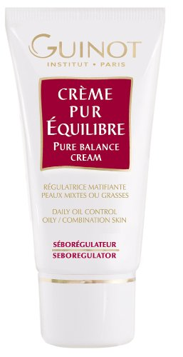 Pure Balance Cream - Daily Oil Control (For Combination or Oily Skin) 50ml/1.7oz by Guinot