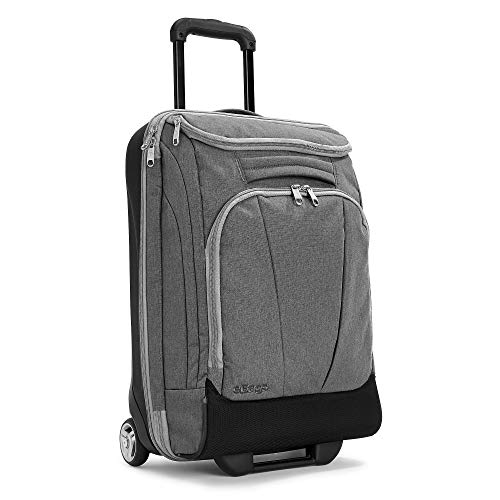 eBags Mother Lode 21 Inches Carry-On Rolling Duffel (Heathered Graphite)