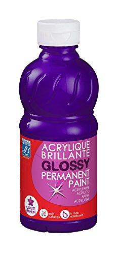 Lefranc Bourgeois acrylique glossy 250ml pourpre