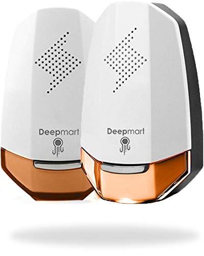 Deepmart - Modello DM60 - Repellente Ad Ultrasuoni - Ultrasuoni per Topi - Repellente per Zanzare, Formiche, Mosche, Ragni, Scarafaggi - 2019 [Pacco da 2]