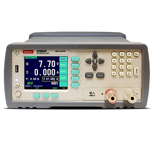 Why Choose ZYL-YL Precise Instrument AT8612 Programmable DC Electronic Load Adopts 300W 300V 30A 3.5...