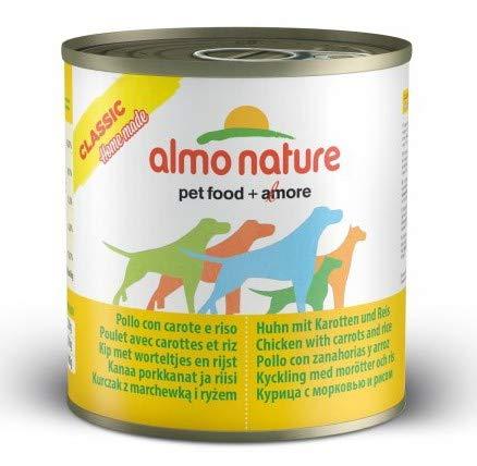 almo nature Hundefutter nass HFC Natural Huhn mit Karotten und Reis, 12 stück