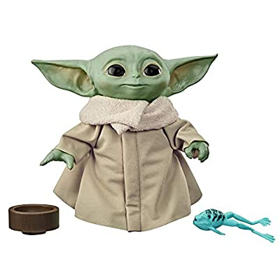 Star Wars The Child Talking Plush Toy with Character Sounds and Accessories, The Mandalorian Toy for Kids Ages 3 and Up by Hasbro