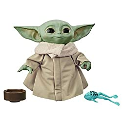 """THE CHILD: Fans call him """"Baby Yoda"""", but this lovable character is known as the Child, and now fans ages 3 and up can add their very own cuddly version of The Child to their Star Wars collections 10 SOUND EFFECTS: Kids can squeeze The Child Talking ..."""