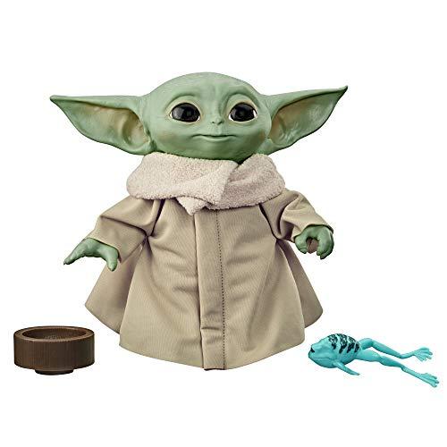 Hasbro Star Wars - The Child (Peluche Baby Yoda con Suoni ed Accessori Tipici del Personaggio Conosciuto Anche Come Baby Yoda, Ispirato alla Serie Disney + The Mandalorian)