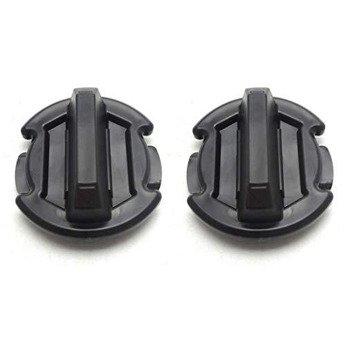 2 Pcs Floor Drain Plug Twist Trap Seal Compatible for 2014-2019 Polaris RZR 1000 900 XP Turbo General - KIWI MASTER