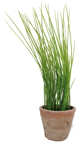 Esschert Design Artificial Herb Plant, Chives, Small