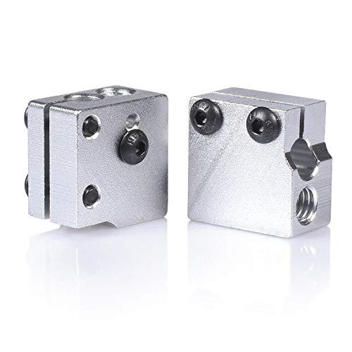 Mechatronics-Pro - Bloque térmico para impresora 3D DaVolcano Nozzle Hotend