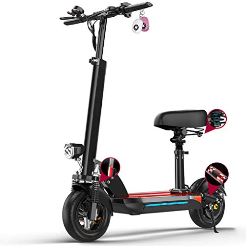Best Buy! Electric Scooter Adults,USB,90KM Long-Range,500w High Power Motor,E-Scooter with Waterproo...