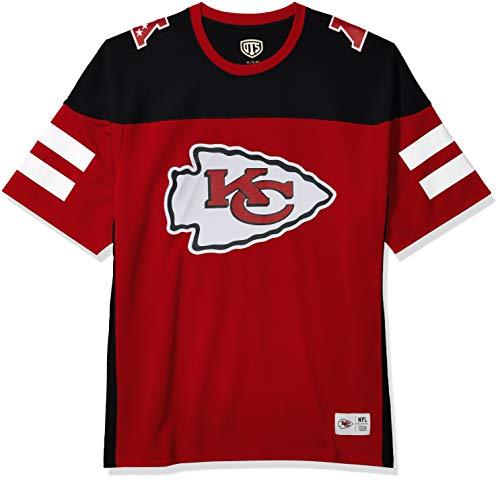 OTS NFL Kansas City Chiefs Men's Alton Jersey, Team Color, Large