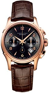 Hamilton Men's HML-H32646595 Jazzmaster Brown Dial Watch image