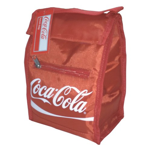 Coca-Cola lunch bag cooler with handle Coke insulated sack tote