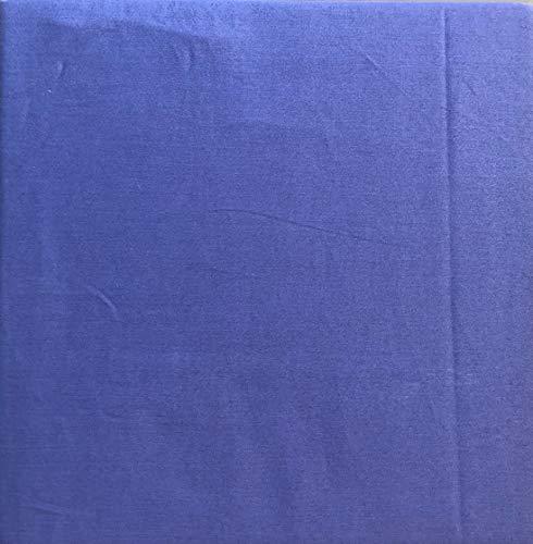 Max Studio Solid Rich Dark Blue Sheet Set Extra Deep Pockets 300 Thread Count 100% Cotton Luxury (Queen)