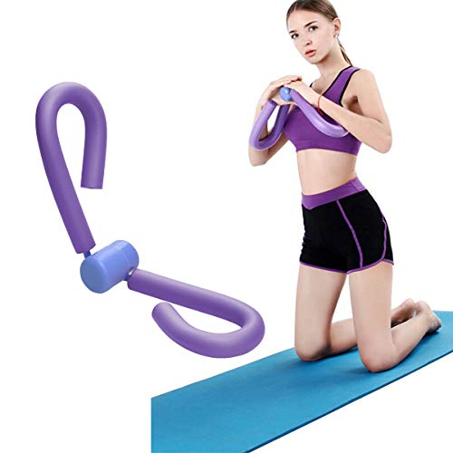 Covvy Thigh Master Thigh Workout Exerciser Thigh Toner Thigh Trimmer Butt/Leg/Arm/Chest Toner, Bodybuilding Fitness Weight Loss Slimming Home Gym Trainer Equipment (Purple)