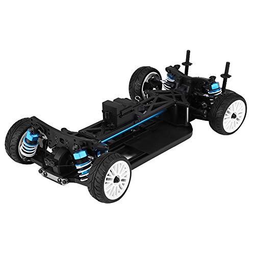 SALUTUYA Kit de Marco de Coche RC 4WD con Juego de neumáticos Protector de colisión de Esponja de aleación de Aluminio fácil de operar para ZD Racing Drift Car