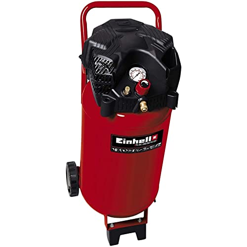 Einhell Compresor TH-AC 240/50/10 OF (1500 W, 240 l/min aspiración, depósito de 50 l, 10 bar de presión máxima de...