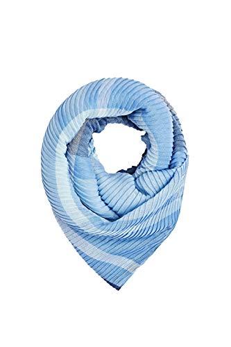 ESPRIT Accessoires Damen 010EA1Q314 Schal, Blau (Navy 400), One Size (Herstellergröße: 1SIZE)