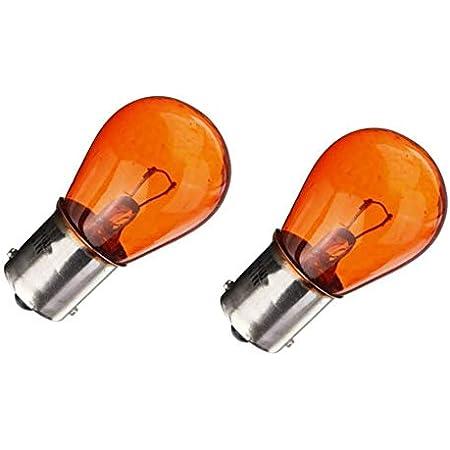 Kugellampe Blinklicht Orange Stoplicht Lampe Bau15s 12v 21w Amber Auto