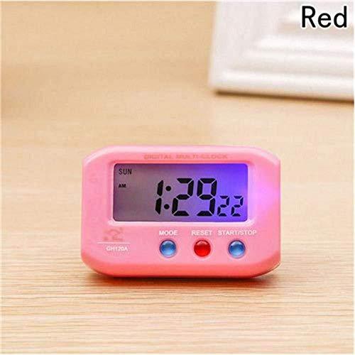 DZXYW Reloj Despertador Cronómetro electrónico plástico