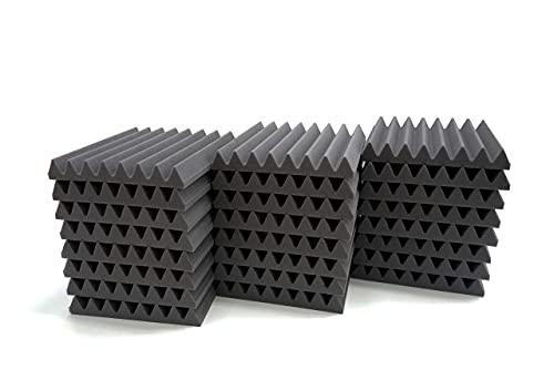 Pro-coustix - echtem Ultraflex Wedge High Qualität Akustikschaumstoff Fliesen, 24Scheiben