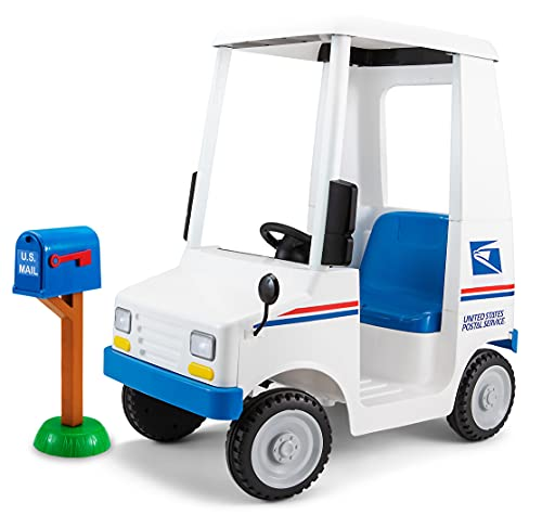 Kid Trax Kids USPS Mail Carrier 6 Volt Electric Ride On Toy, Ages 3-5...