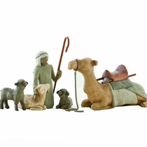 Willow Tree Shepherd and Stable Animals by Willow Tree by Demdaco