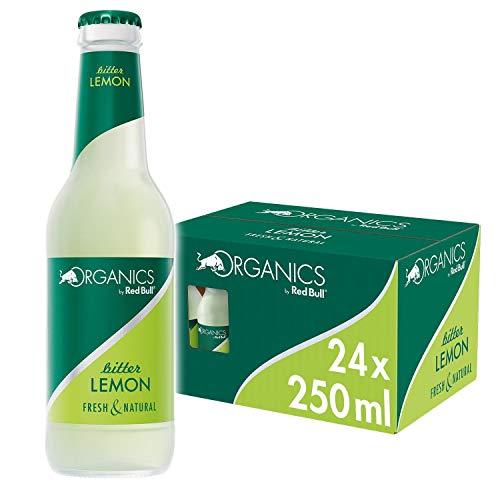 Organics by Red Bull, Bitter Lemon - 24 botellas de 250ml - Total 6.000ml
