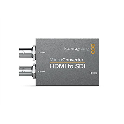 Blackmagic Design Aktiver Micro-Video-Konverter, HDMI zu SD, 1920x1080 Pixel, 525i, 625i, 720p, 1080i, 1080p, Grau, HDMI, BNC