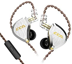 CCA C12 in Ear Monitor 5BA 1DD Wired Sport Earbuds Headphone Stereo Noise Cancelling Gaming IEM Earphone for Musician Audiophile Singer DJ
