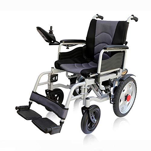 DAZHONG Powerchair Pieghevole Leggero per sedie a rotelle elettriche - Fino a 12 miglia di Distanza Dispositivo di Mobilità Leggero per utenti Anziani, portatori di Handicap e disabili