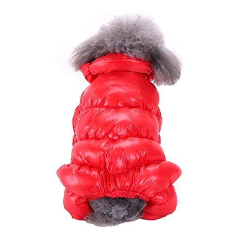 Huisdier jas hondenpuppy winter warm waterdichte jas puppy kleding pet kostuum outdoor kleding hondenmantel voor kleine medium grote honden S-XL