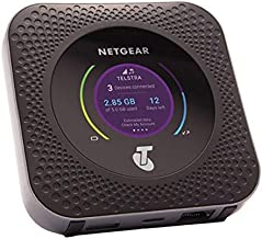NETGEAR MR1100 - Router 4G SIM, Nighthawk con Velocidad hasta 1 Gbps, Conecta hasta 20 Dispositivos WiFi, wifi Portatil 4G con Cualquier SIM