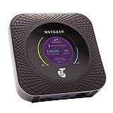 NETGEAR Nighthawk Router 4G Sim MR1100, Velocidad hasta 1 Gbps, Conecta hasta 20 Dispositivos, wifi Portatil 4G con cualquier SIM