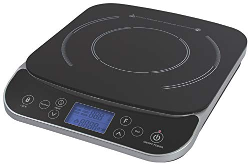 Max Burton #6450 Digital LCD 1800 Watt Induction Cooktop Counter...