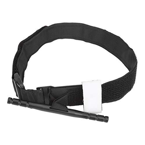Annjom Torniquete Giratorio, torniquete Universal Flexible con Material de Nailon magulladuras y Cortes para mochileros