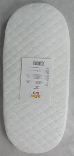 Baby REX  Quilted Breathable PRAM Mattress FITS BABYSTYLE Oyster CARRYCOT PRAM