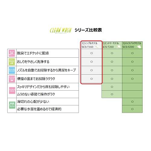 TOSHIBA(東芝)『温水洗浄便座クリーンウォッシュ(SCS-T160)』