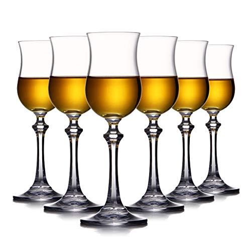 Bicchiere corto personalizzato infrangibile gambo lungo cristallo trasparente Bicchiere da vino rosso grande set di 6 bicchieri da birra da campeggio per feste di nozze, lavabile in lavastoviglie