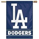 Wincraft Los Angeles Dodgers Vertical MLB Fahne 100 x 70 cm -