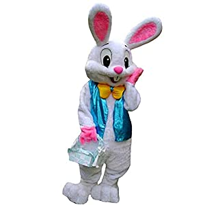 Deluxe plush mascot costume includes head with see through eye mesh, jumpsuit with attached mittens and foot covers Using a mascot to promote your business, team or event is a smart and innovative way to get noticed Material: 100% Polyester Imported ...