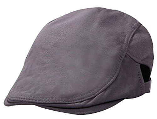 Retro-Hut-Kappe Männer und Frauen-Baseball-Mütze Fashion Cap Dark Gray