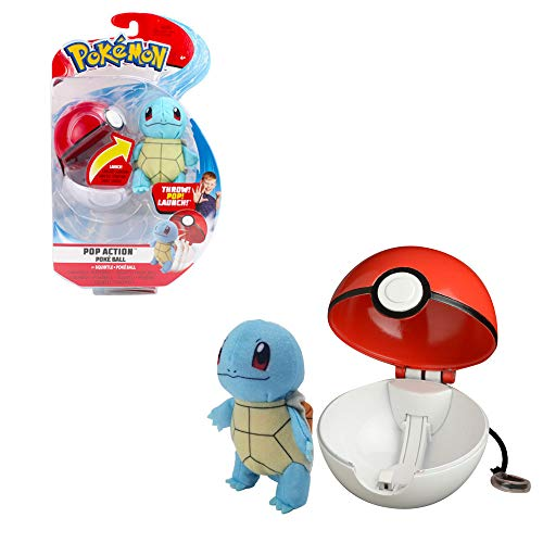 Boti Pokéball Action Set mit Plüschfigur Schiggy