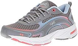 powerful Ryka Women's Inspired Hiking Shoes, Gray, 7.5 Million