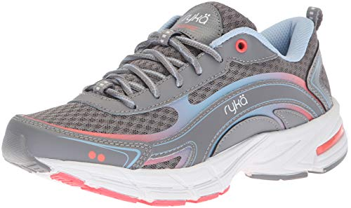 powerful Ryka Women's Inspired Hiking Shoes, Gray, 7.5 Million