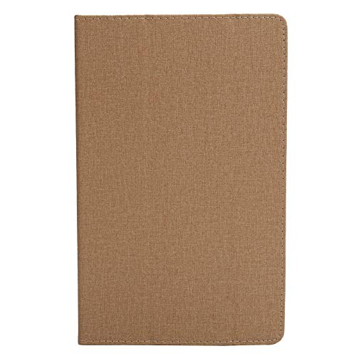 Jopwkuin Funda con Tapa para Tableta, Tableta para Apple iPad Mini 1 2 3 4 5(Golden)