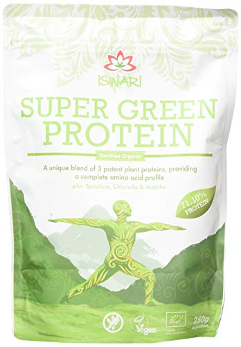 Iswari Organic Super Green Protein Powder 250 g