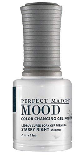 LECHAT Perfect Match Mood Gel Polish, Starry Night, 0.500 Ounce